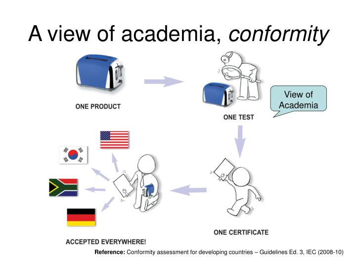 A view of academia,