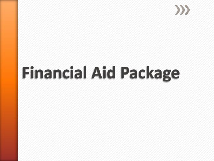 Financial Aid Package