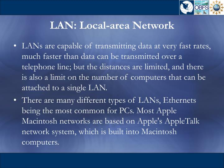 LAN: Local-area Network