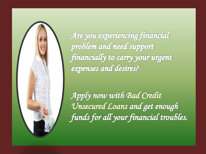 Are you experiencing financial problem and need support financially to carry your urgent expenses an...