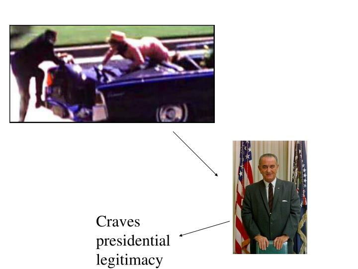 Craves presidential legitimacy