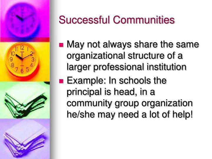 Successful Communities