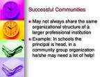 successful communities1