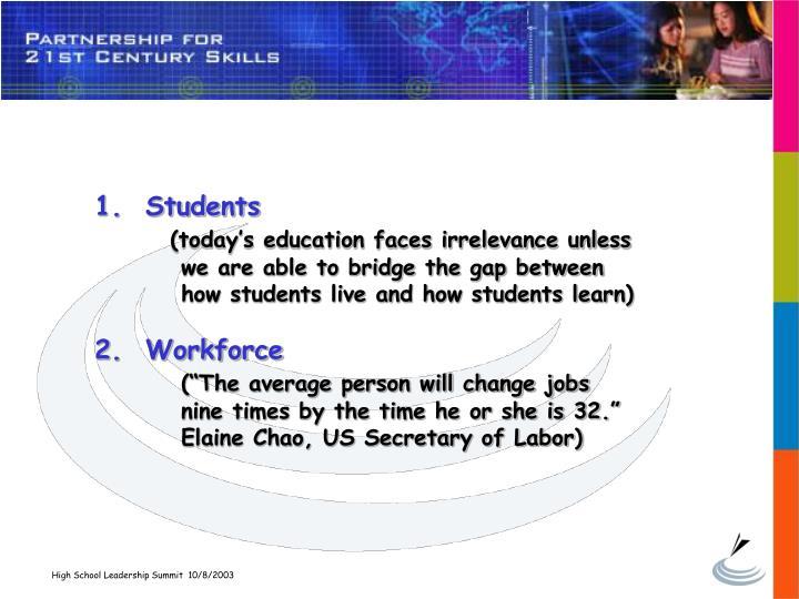 1.  Students