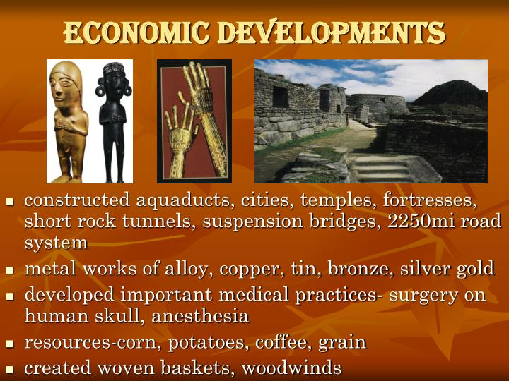 Economic Developments