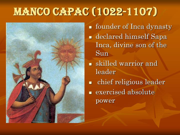 Manco Capac (1022-1107)