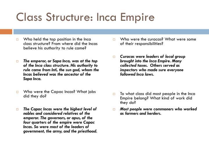 PPT - Inca Empire PowerPoint Presentation - ID:3998152