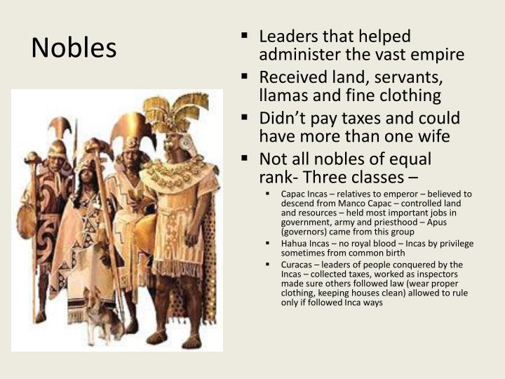 PPT - Chapter 26 The Incas PowerPoint Presentation - ID:3998160