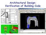architectural design verification of building code