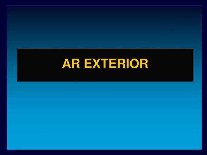AR EXTERIOR