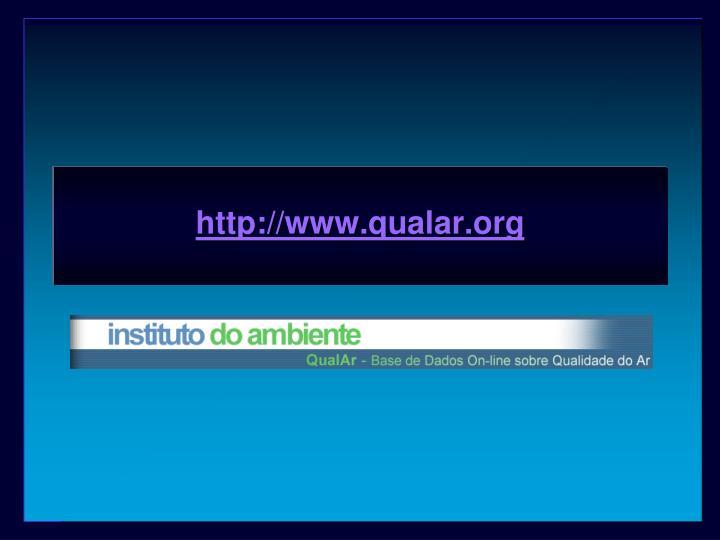 http://www.qualar.org