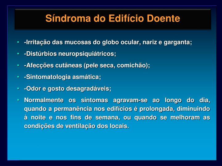 Síndroma do Edifício Doente
