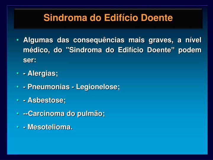 Sindroma do Edifício Doente