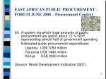 east african public procurement forum june 2008 procurement context1
