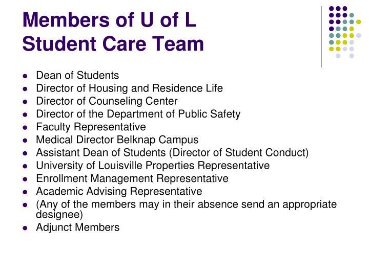 Members of U of L