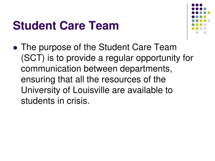 Student Care Team