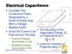 electrical capacitance