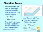 electrical terms