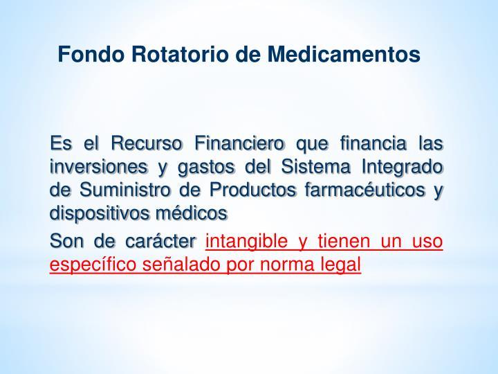 Fondo Rotatorio de Medicamentos