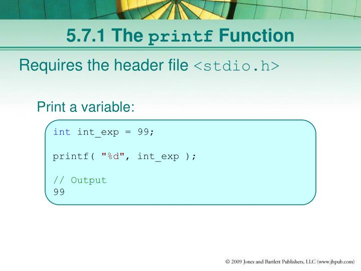 5.7.1 The