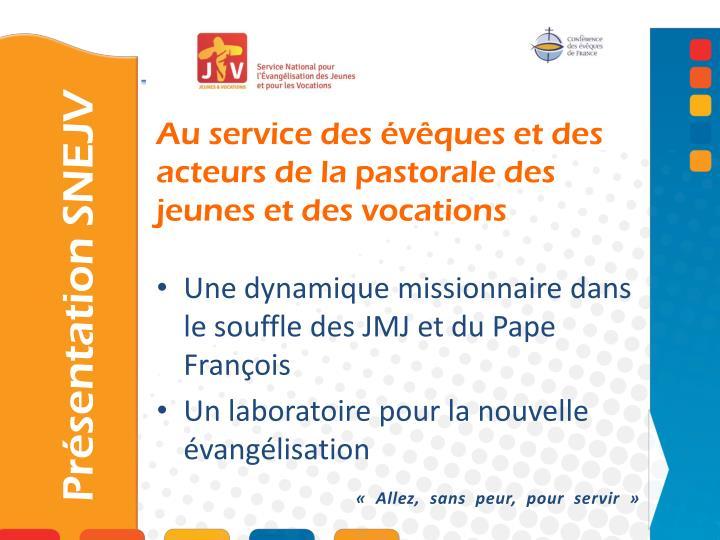 Une dynamique missionnaire dans le souffle des JMJ et du Pape François