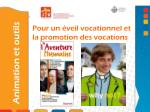 pour un veil vocationnel et la promotion des vocations