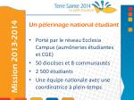 un p lerinage national tudiant