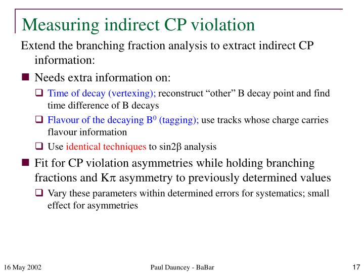 Measuring indirect CP violation
