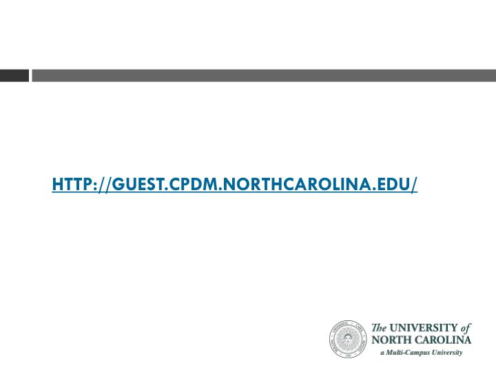 http://guest.cpdm.northcarolina.edu/