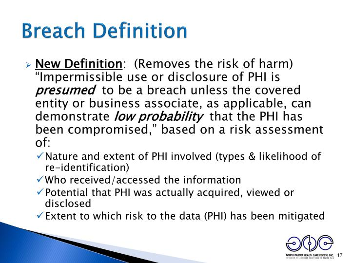 Breach Definition