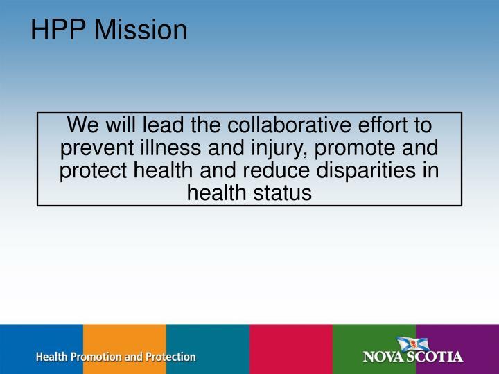 HPP Mission