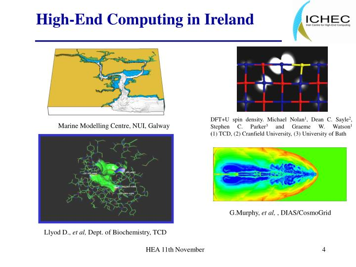 High-End Computing in Ireland