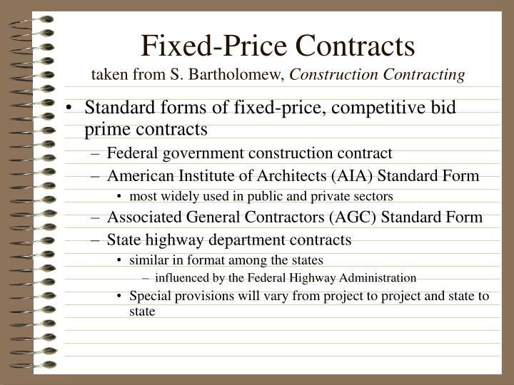 starndard contracts
