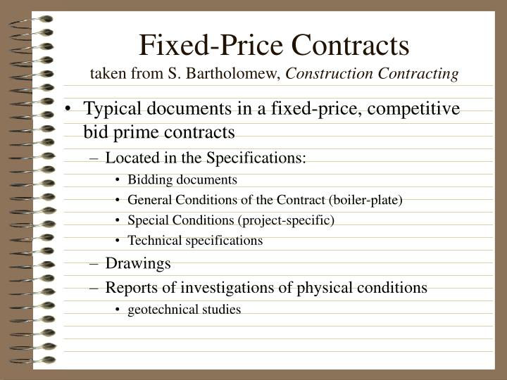 Ppt overview of today powerpoint presentation id 3999729 for Fixed price construction contract