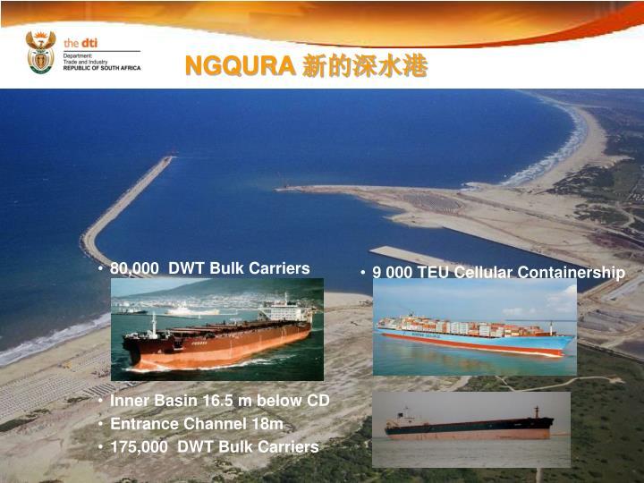 80,000  DWT Bulk Carriers