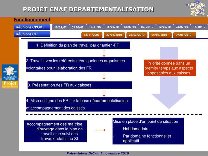 1. Définition du plan de travail par chantier -FR