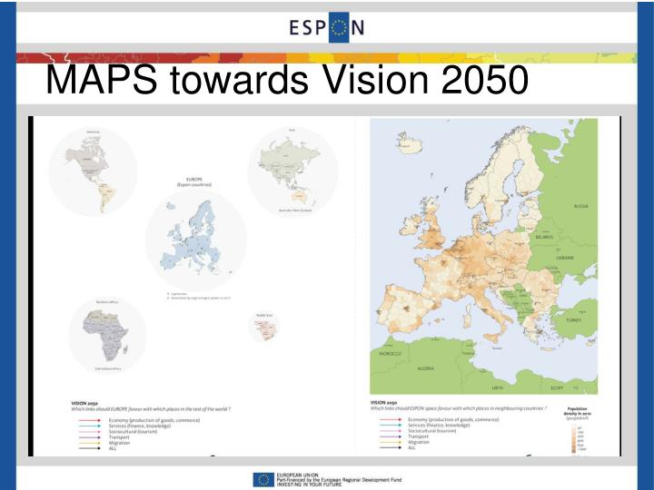 MAPS towards Vision 2050
