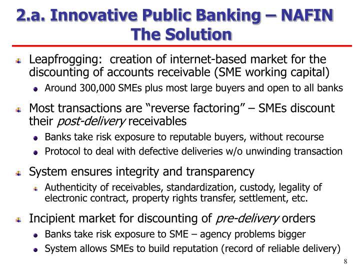 2.a. Innovative Public Banking – NAFIN