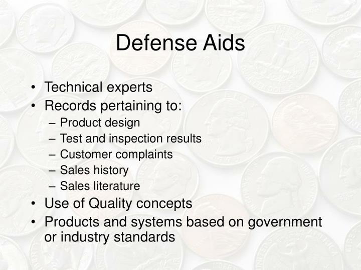 Defense Aids