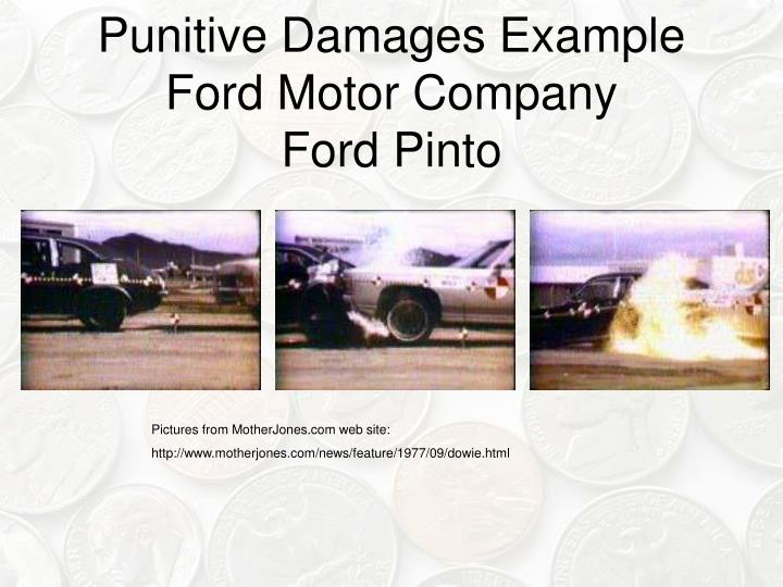 Punitive Damages Example