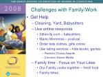 challenges with family work1