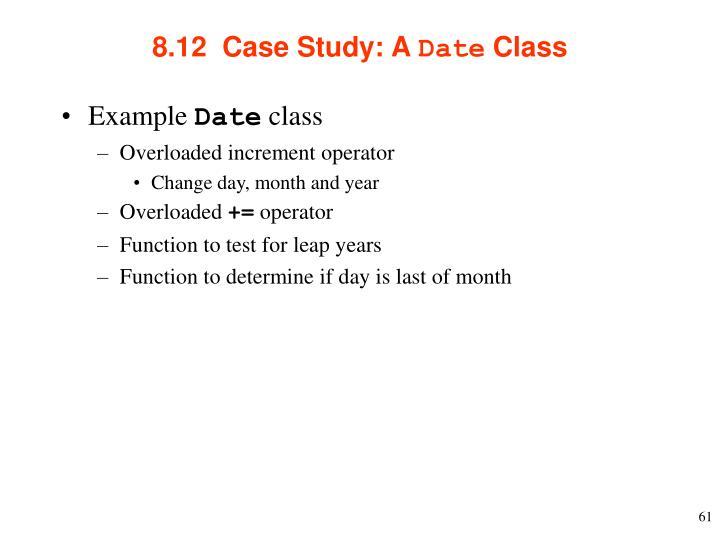 8.12  Case Study: A
