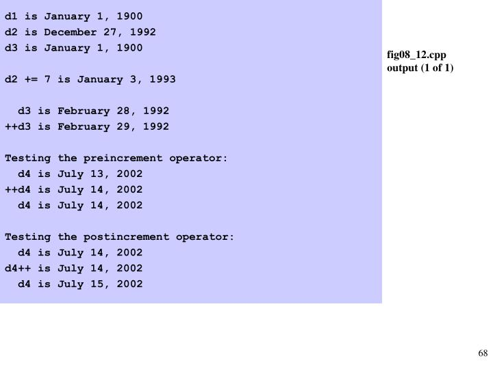d1 is January 1, 1900