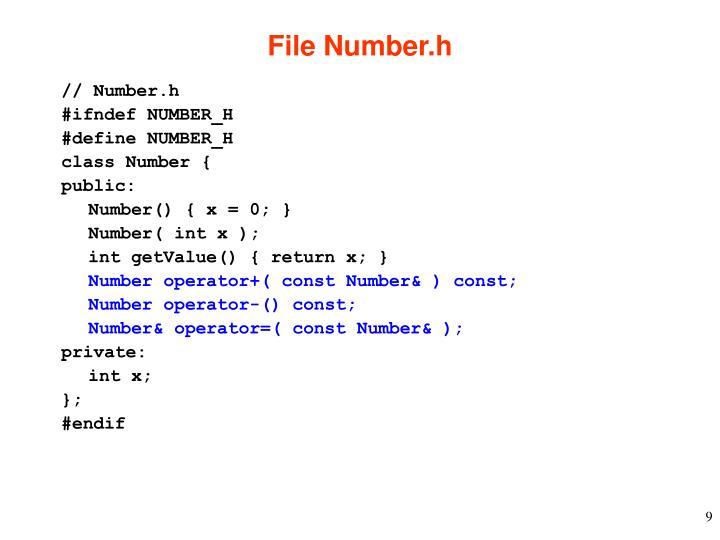 File Number.h