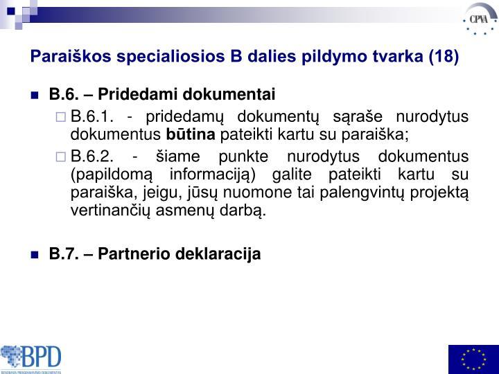 Paraiškos specialiosios B dalies pildymo tvarka (18)