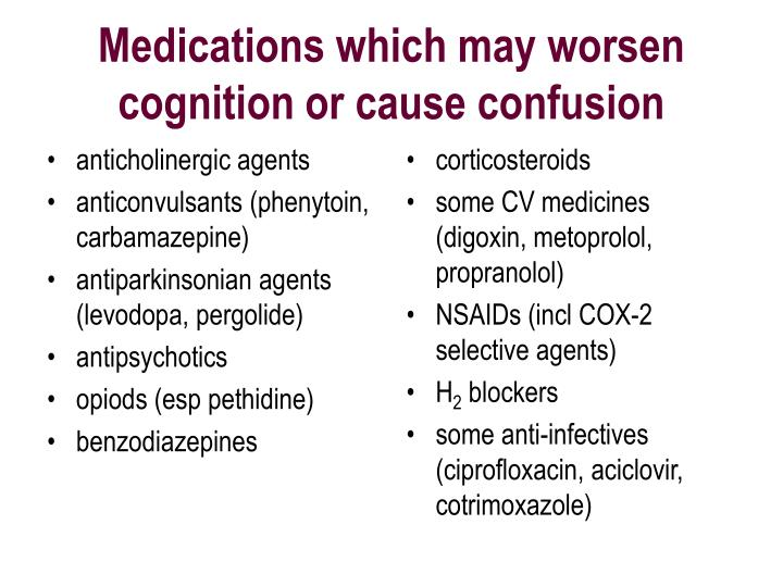 anticholinergic agents