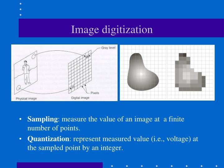 Image digitization