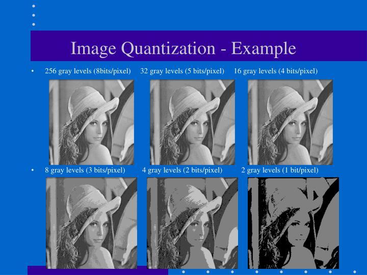 Image Quantization - Example