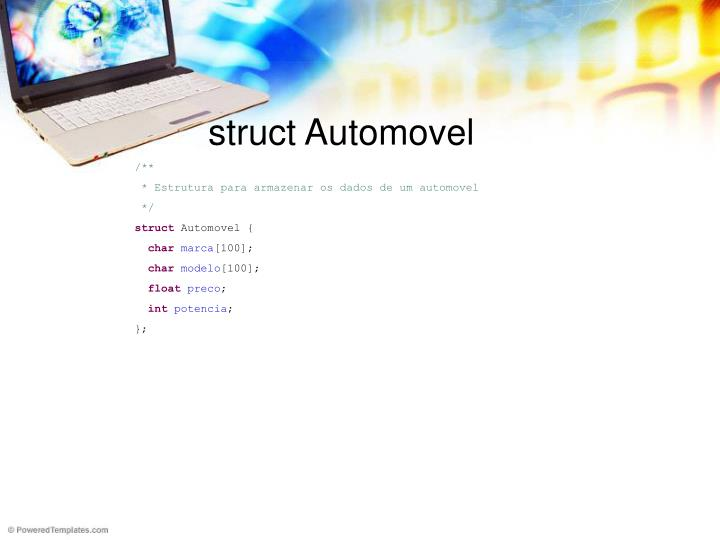 struct Automovel