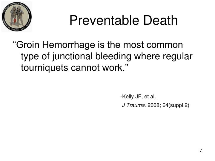 Preventable Death